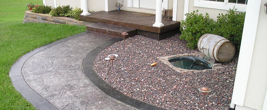 Use Custom Concrete To Make Your Yard Beautiful Kc Pro