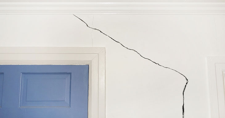 wall cracks - Crack In Basement Wall