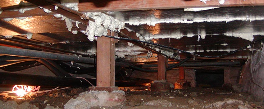 Residential crawl space