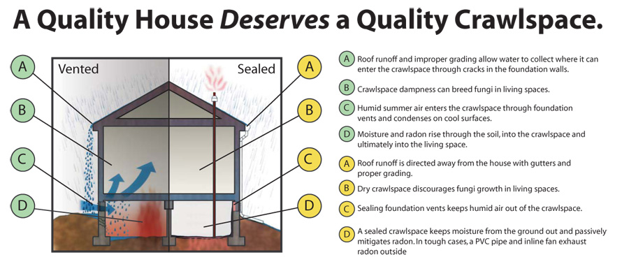 Common Crawl Space Waterproofing Issues Kc Pro Kc Pro